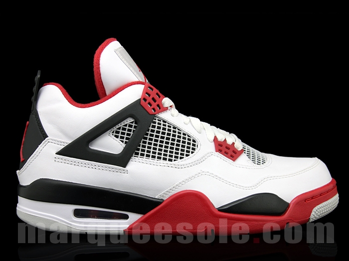 """competitive price 21ae6 c9e90 NBA   Air Jordan 4 """"Fire Red"""" Out in August   Lady in the Man Cave"""
