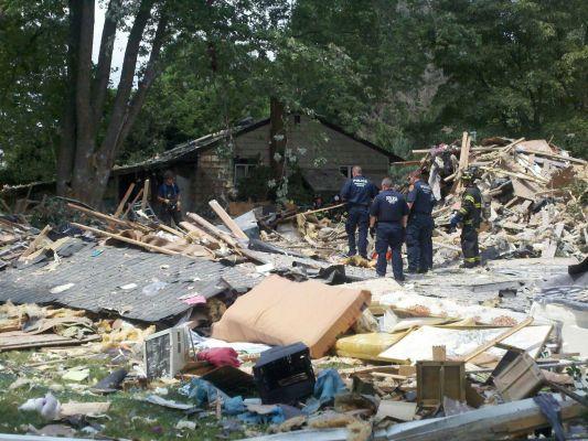 Block Island House Explosion