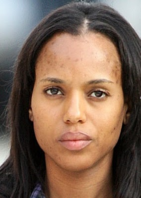 Kerry Washington and His Cover 'No Makeup', What Os Looks like?