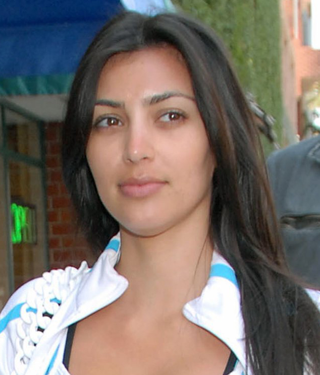 kim-kardashian-no-makeup-without-makeup-celebrities-acne-scars-clear-get-rid