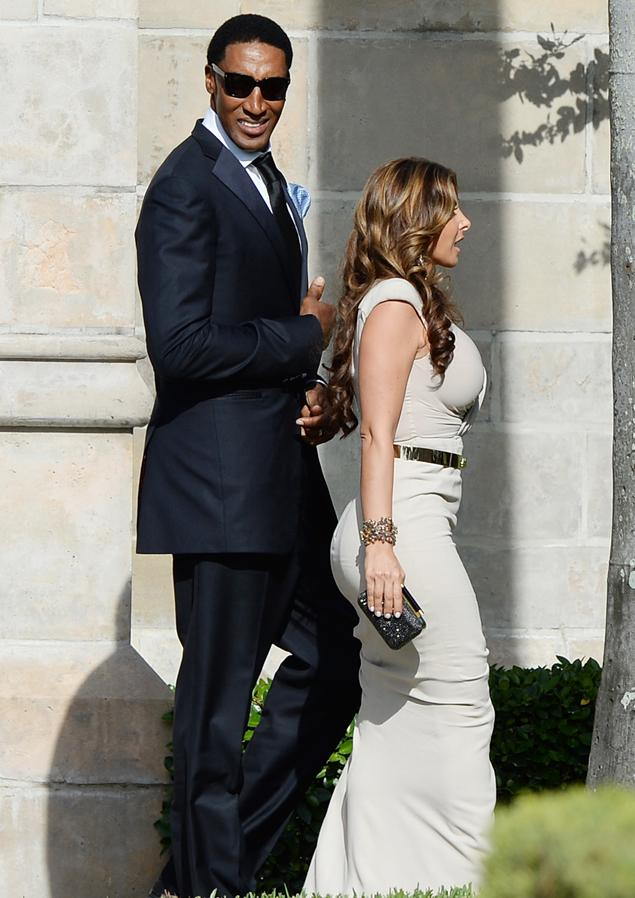 Nba First Photo Of Michael Jordan And His New Wife At Their