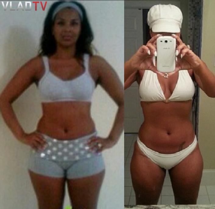 Celebs Lisa Raye Does Day Challenge Loses Weight Pics