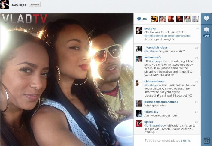 french montana trina dating Rapper trina and french montana dating rappers french montana and who has trina dated trina were supposedly rapper trina and french montana dating in an on-again, off.