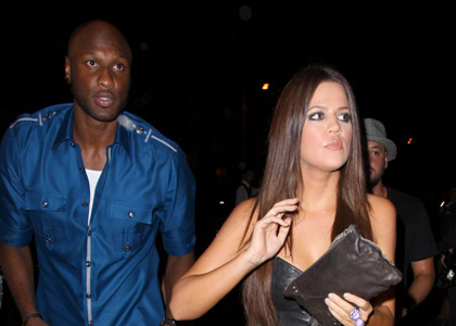 """Has Khloe Kardashian """"gone wild""""? Khloe was spotted at STL with """"Girls Gone Wild"""" founder Joe Francis and LA Lakers star Lamar Odom"""
