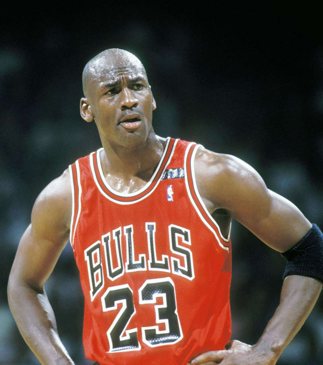"Michael Jordan Gets Beat For Top Spot In ""Most Liked Athlete"" Poll"