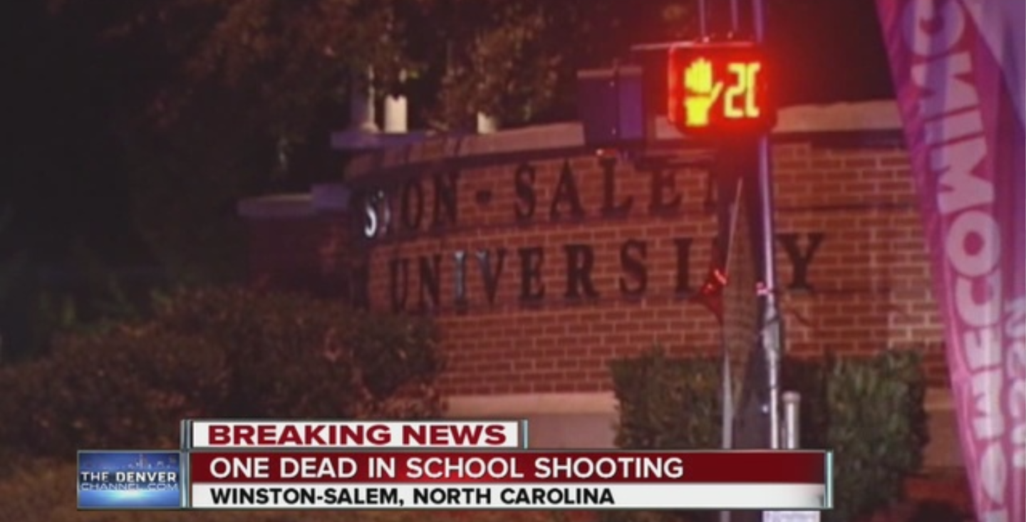 Shooting At Winston-Salem State University Leaves One Dead   Lady in